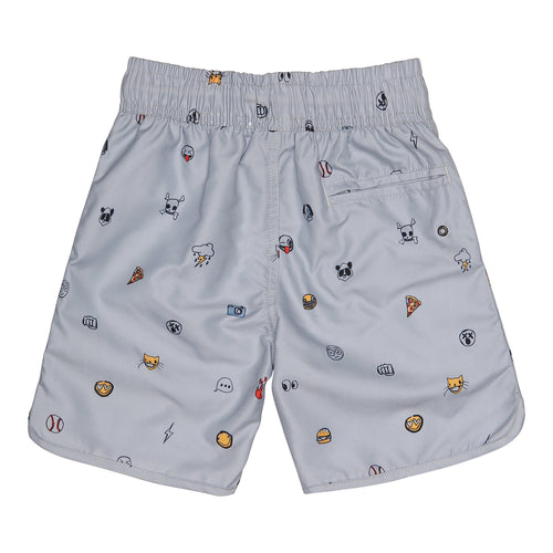 Boys AOP Emojo Swim Alloy Oliver Swim Pants