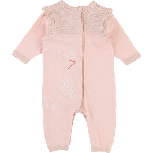 BABY GIRLS PINK PLAYSUITS