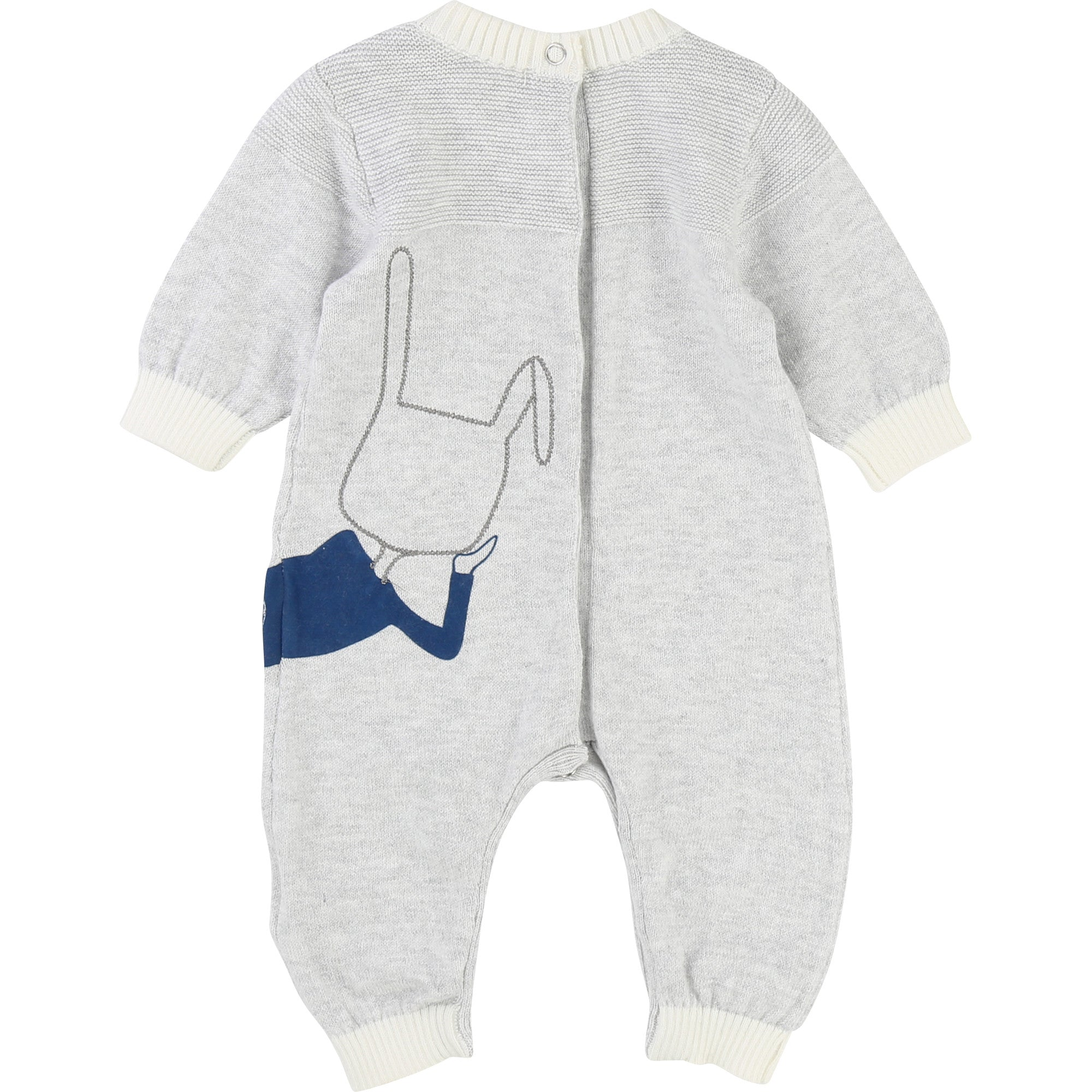 BABY UNISEX Light Grey PLAYSUITS