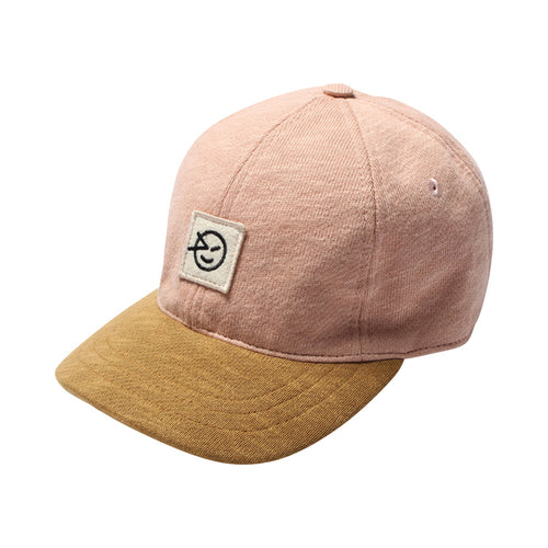 Badge Cap DullPink/Bronze