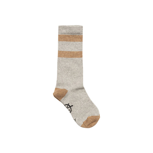 Sparkle Sports Sock Silver/Gold
