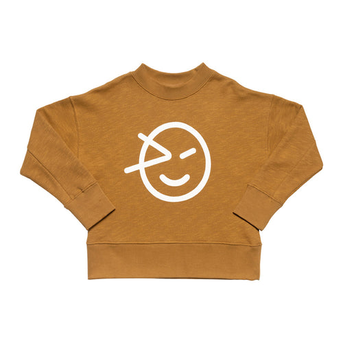 Wynken Slouch Sweat Bronze
