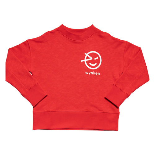 Wynken Slouch Sweat Red
