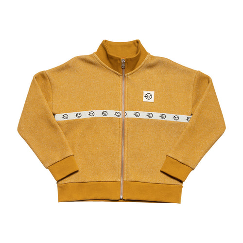 Modern Track Top Golden