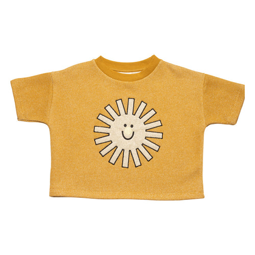 Sunshine Short Sleeve Sweat Golden