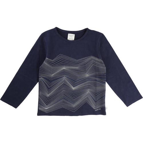 BOYS DARK BLUE TEE-SHIRT