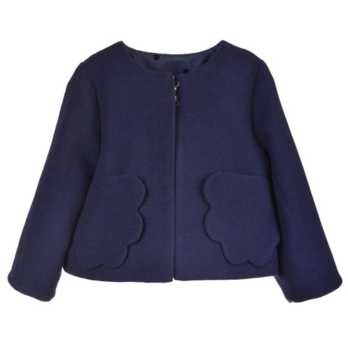 Girls Petal Pocket Jacket