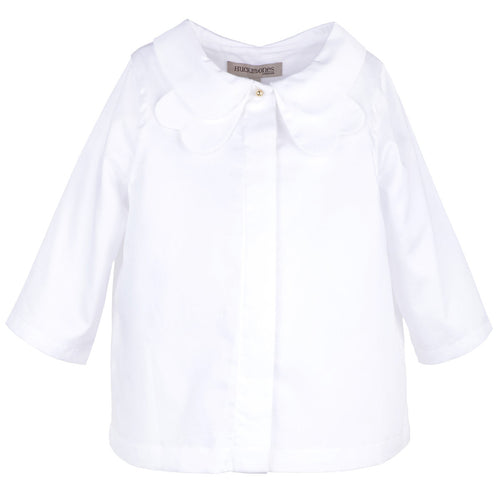 Girls Petal Collar Blouse