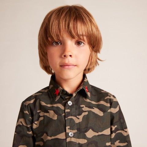 BOYS Khaki Earth Shirt