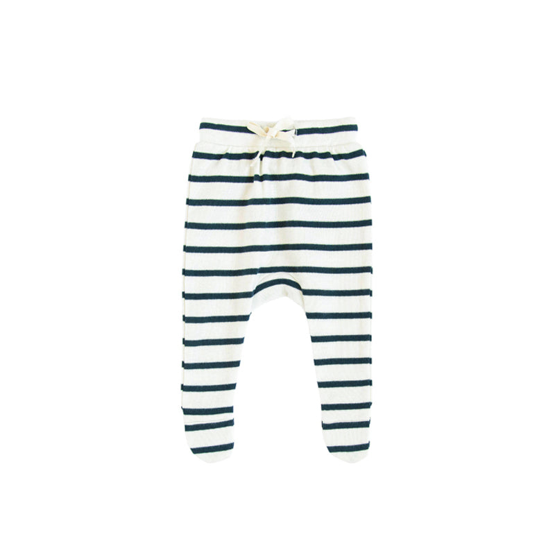 Breton Stripes Footed Pants