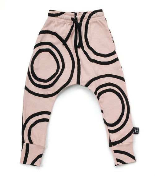 Nununu Circle Baggy Pants Powder Pink