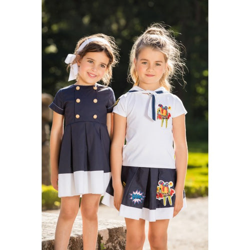 Dress Kids Girl Navy
