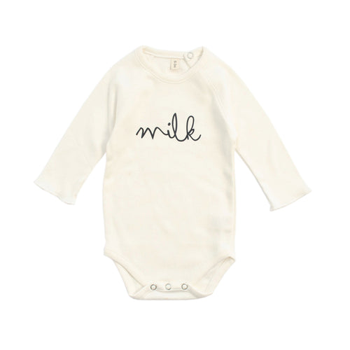Natural Bodysuit Milk