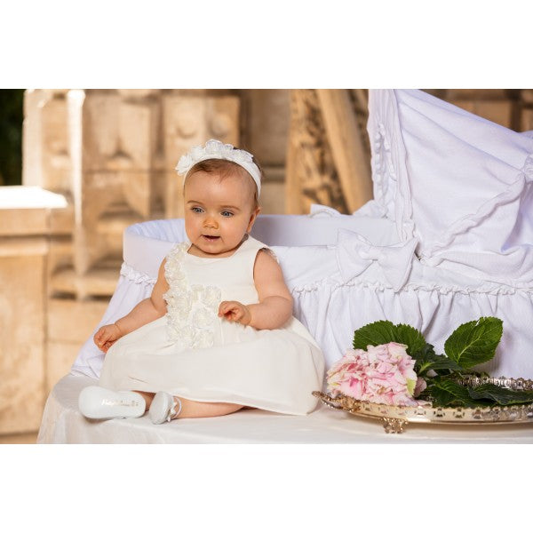 Dress Special Occasion Girl White Flower