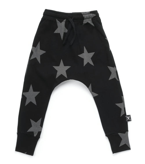 Nununu Star Baggy Pants Black