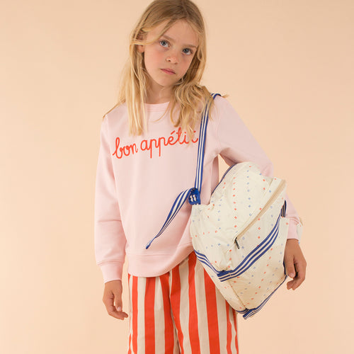 Bon Appetit! Pink Girls Sweatshirt
