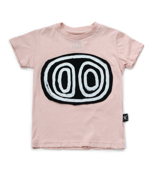 Nununu Tribal Eyes T-Shirt Powder Pink