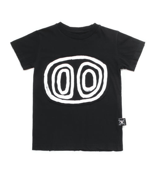 Nununu Tribal Eyes T-Shirt Black