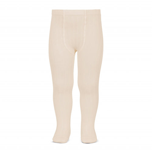 Condor Ribbed Tights - Linen