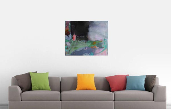 Le pont (Original) - Painting - [product-vendor] - Chou Sauvage