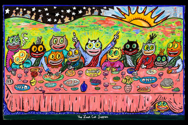 Last Cat Supper - Print - [product-vendor] - Chou Sauvage