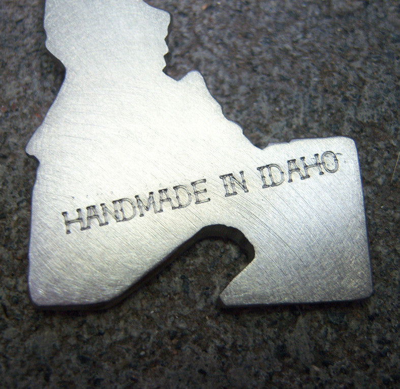 Idaho Bottle Opener Keychain