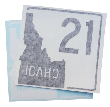 Idaho Highway 21 Sticker