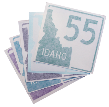 Idaho Highway 55 Sticker