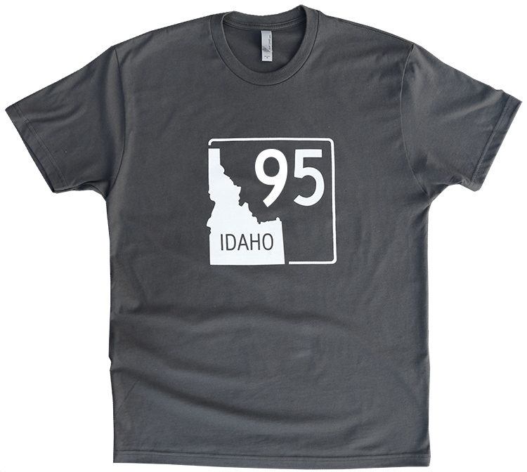 Idaho Highway 95 Mens Tee