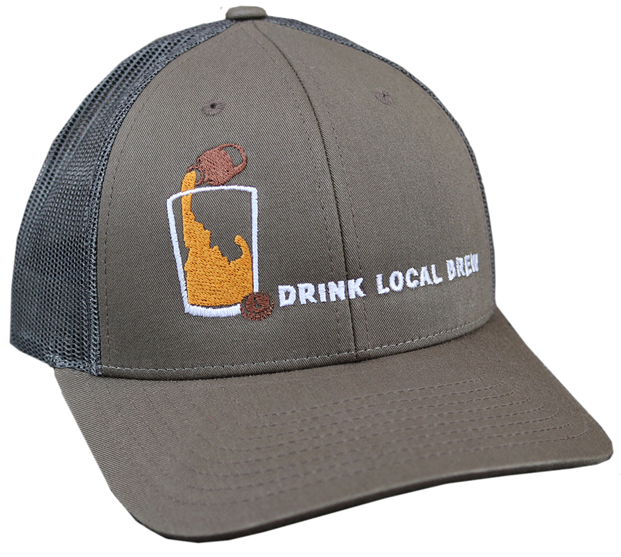 Idaho Brew Adjustable Mesh Hat
