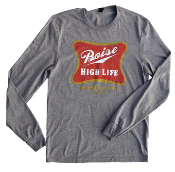 PBD Boise High Life Mens Long Sleeve Tee