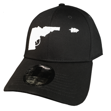 Idaho Tree-Gun Curved-Bill Fitted Hat