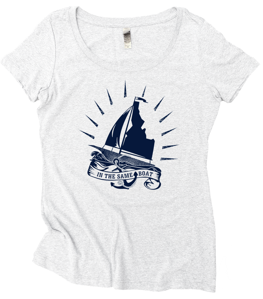 LAST CHANCE Same Idaho Boat Women's Tee