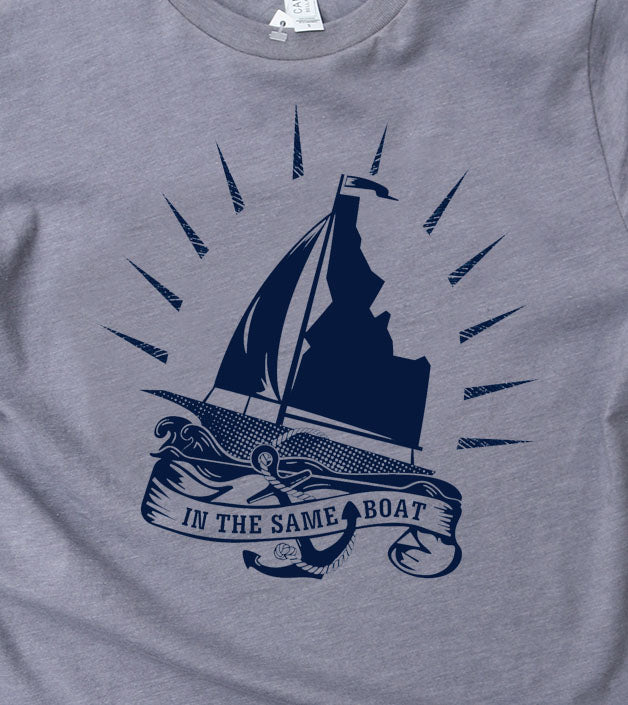 LAST CHANCE Same Idaho Boat Men's Tee