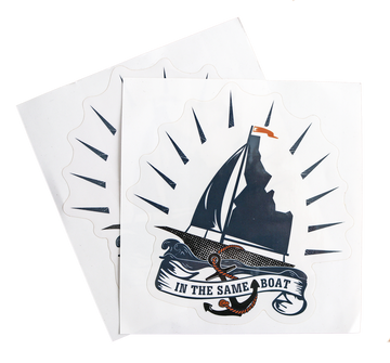 SPECIAL EDITION Same Idaho Boat Sticker