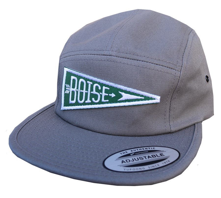 Boise Pennant Patch Camper Hat