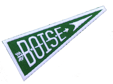Boise Pennant Patch