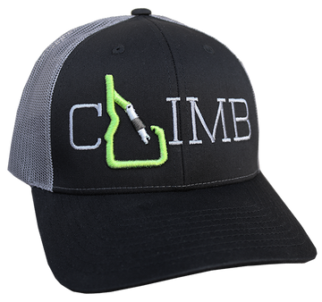 CLIMB Idaho Adjustable Mesh Back Hat