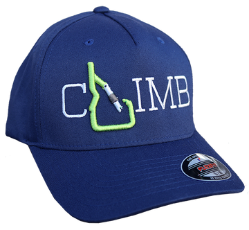 CLIMB Idaho Full Fabric Baseball Cap