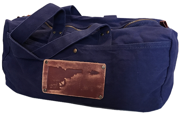 Idaho Tree-Gun Leather Patch Duffel