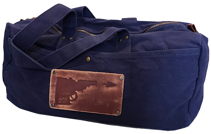 Idaho Tree-Gun Leather Patch Duffle