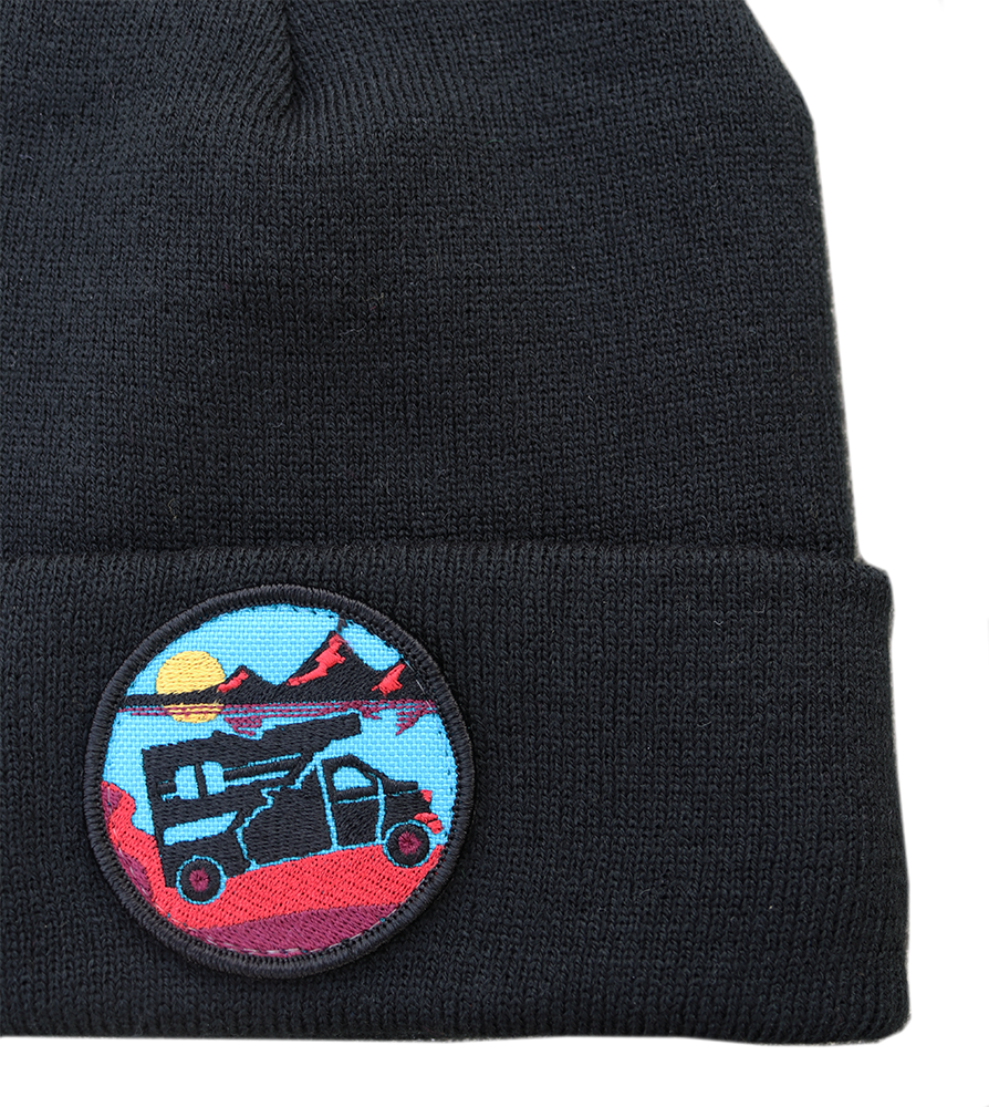 Explore Idaho Patch Foldover Beanie