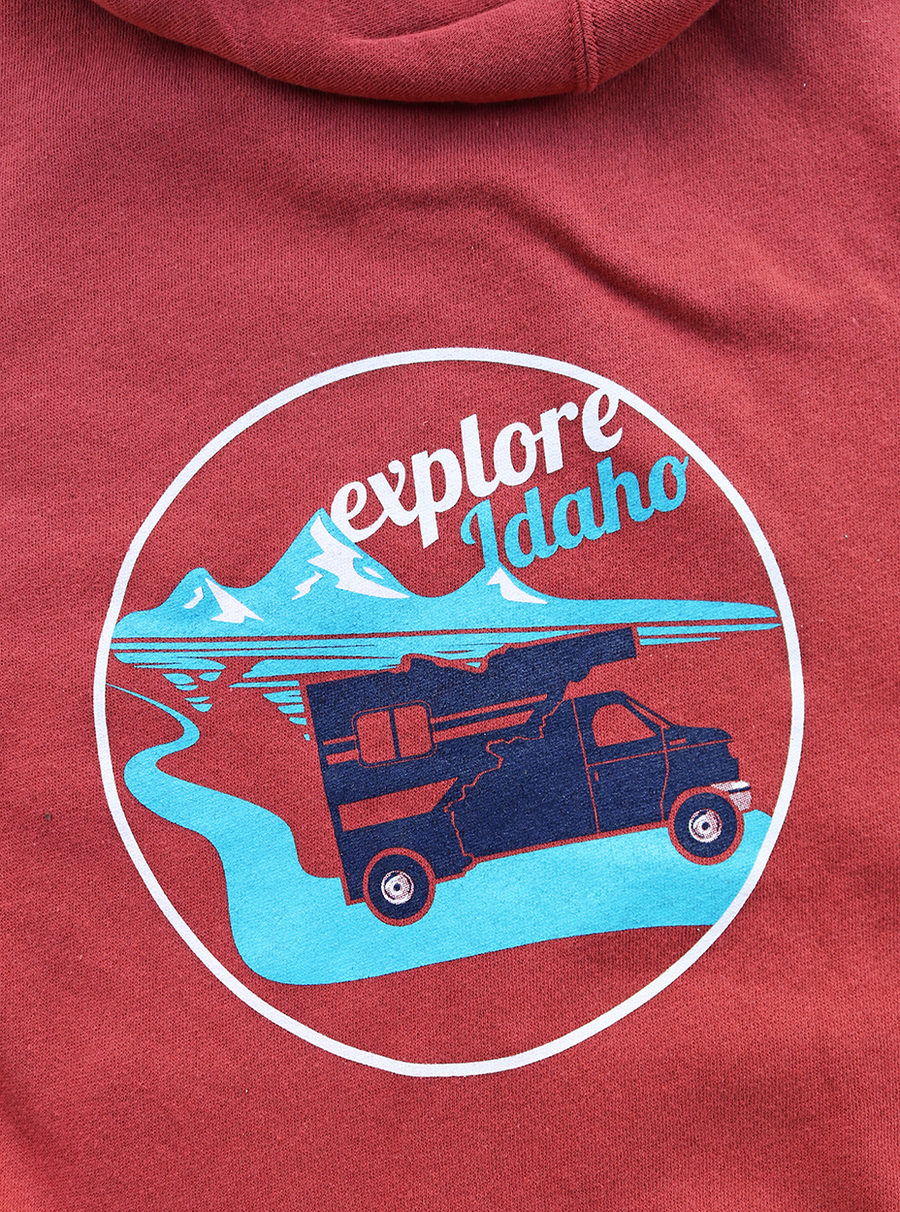Explore Idaho Zip Sweatshirt
