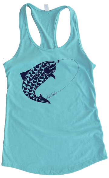 Fish Idaho Ladies Tank
