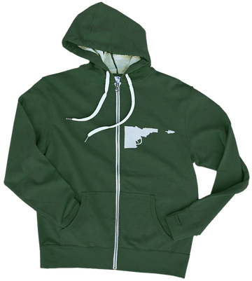 Idaho Tree-Gun Premium Zip Sweatshirt