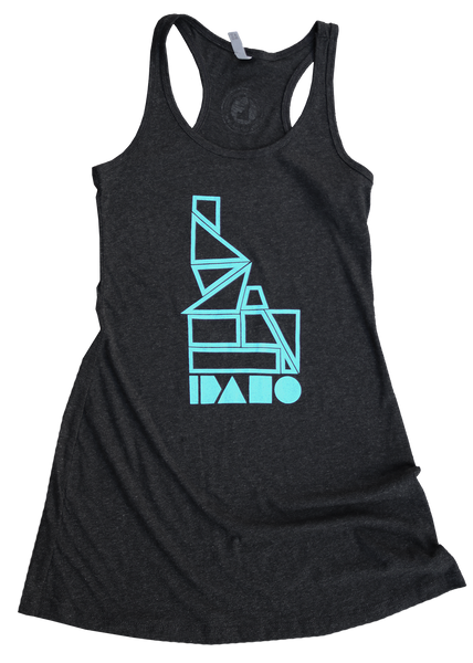 Geo Idaho Ladies Tank Dress