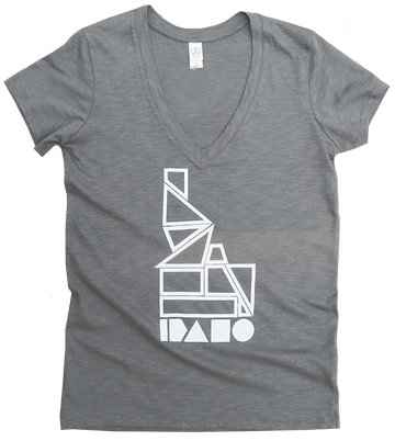 Geo Idaho Ladies Tee