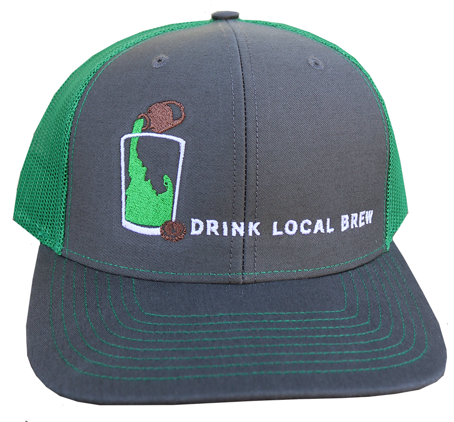 LIMITED EDITION Green Idaho Brew Adjustable Mesh Hat