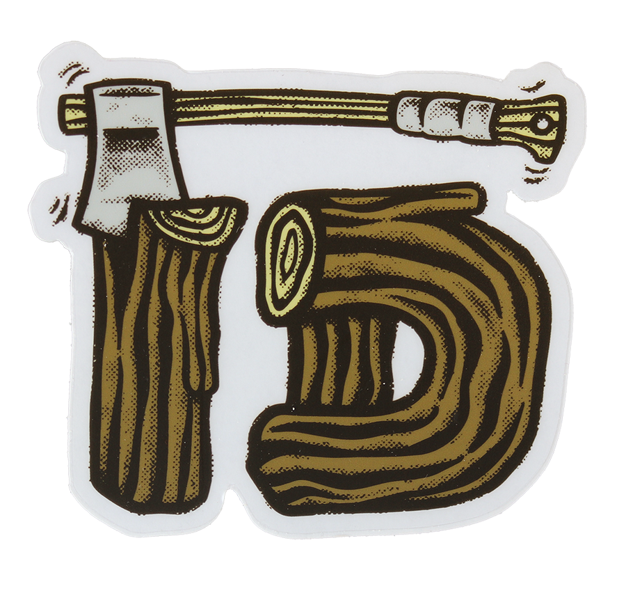 HBJ Axe ID Sticker