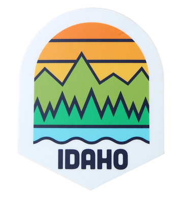 HBJ Idaho Outdoor Sticker